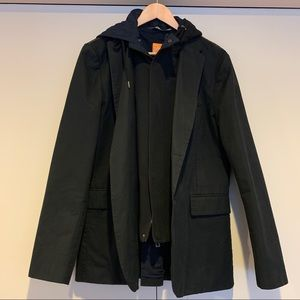 Hugo Boss Orange Men's Black Jacket